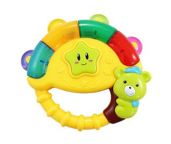 High quantity baby bear hand bell musical instrument tambourine for sale