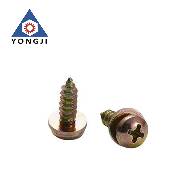 OEM&ODM Custom Hight Combination zinc philips screw with washer