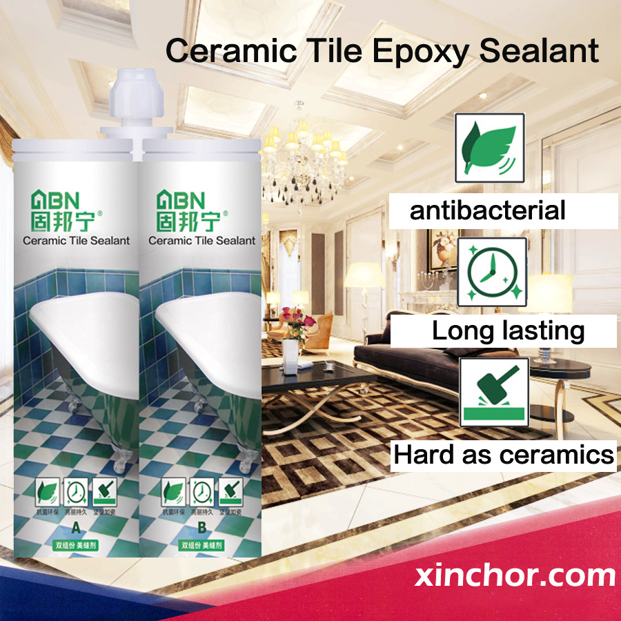 waterproof ceramic tile surface color sealant