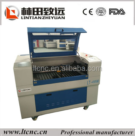 cnc router/CO2 laser engraving machine 100w RECI cnc 6090 laser cutting machine/cnc cutting