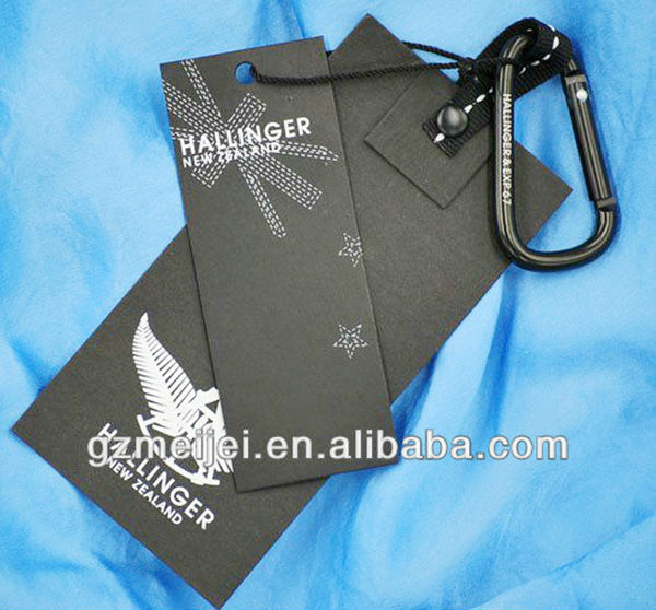 promotional hang tag jeans