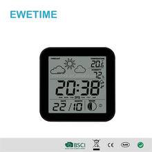 "CE Rohs 3.7"" HD Display World Time LED Digital Clock"