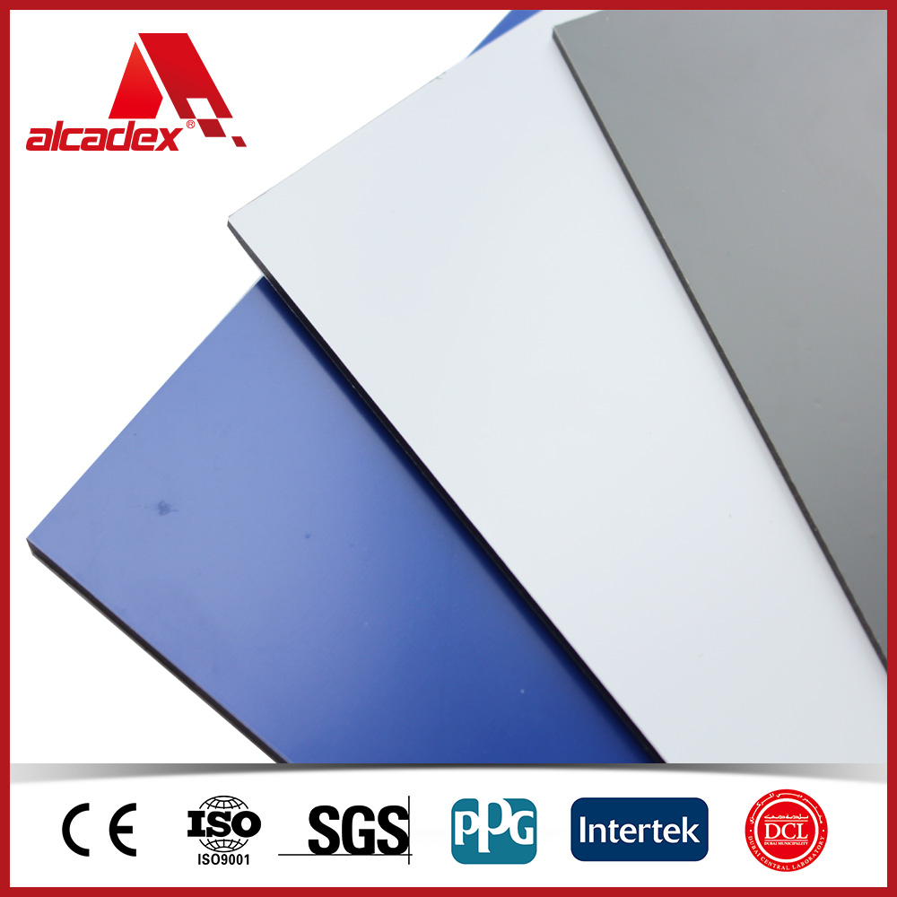 2/double sides white ACM signage board supplier