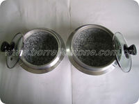 Steel cooking mixing stone pots