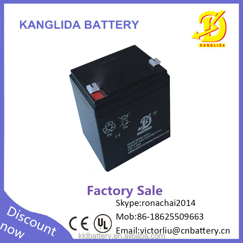 12 volt 12v 4ah free seald lead acid dry charge battery