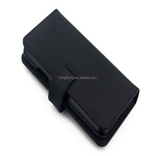 funky flip pu leather phone case horizontal stand function for 5.8- inch phones