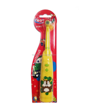 soft bristles electric kid toothbrush motor