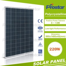 Top Quality Poly 100W Low Price Solar Panel 220V