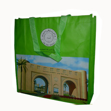 Personalized Custom gloss lamination Folding non woven bag