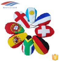 China Flag Maker Wholesale Custom Car Side Mirror Flag Cover Socks