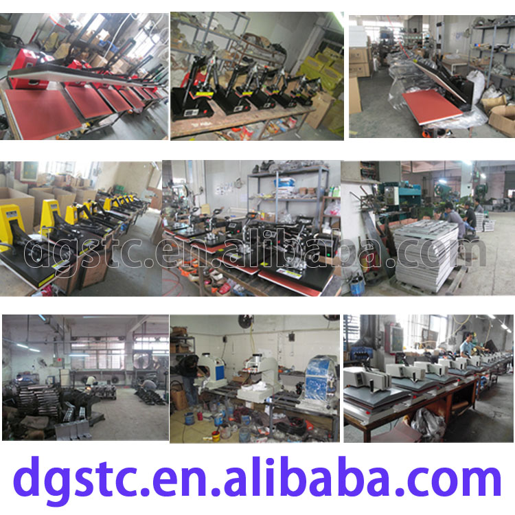 CE hot selling manual digital t shirt printing high pressure heat transfer machine