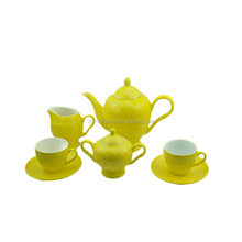 Chinese commercial Crystalline glaze eco-friendly and good quality induction ceramic tea pot