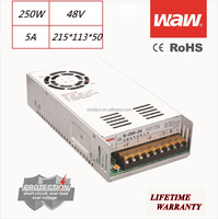 48V 5A 250W 110V/220V AC/DC Switching Power Supply CCTV power CE ROHS approved