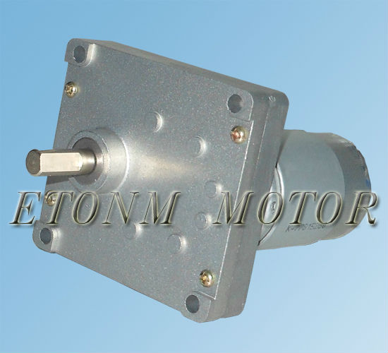 Flat Brushled DC Geared Motor, PMDC Motor with Gearbox 24v