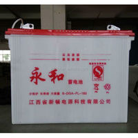 large capacity 12v 200ah tube lead acid battery for electric bike & cargo rickshaw