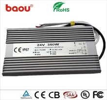 Baou DC 12V 29A 350W Constant Voltage Waterproof Power Supply