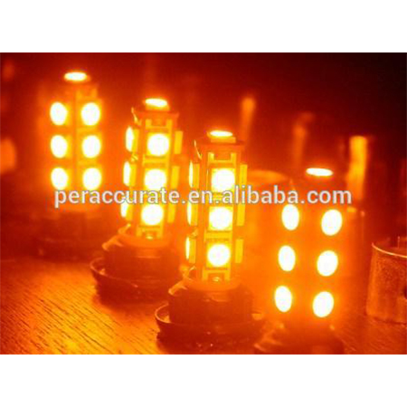 Factory price atv motorcycle 13SMD 5050 T10 W5W led offroad led module 5050 Yellow Amber LED