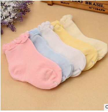 Cute Baby Toddler Kids Girls Boys Lace Mesh Thin Soft Cotton Ankle Socks Princess Baby Girl Socks Retail one pairs