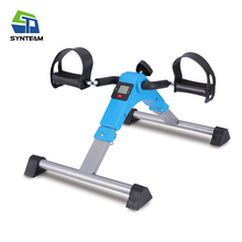 hand and foot trainer pedal exerciser folding mini exercise bike for elderly people