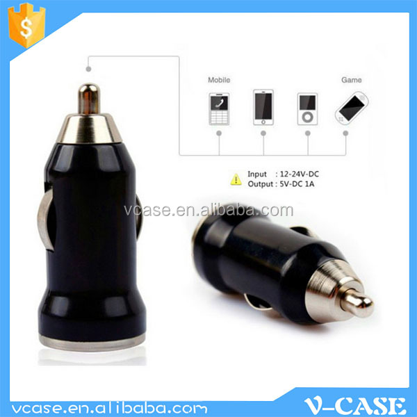 Cigarette lighter USB DC car battery charger from Guangzhou