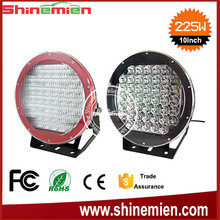 "10 Inch 225w Led Driving Lights Spot Work Offroad Truck light,SUPER SERIES 10"" 225W BLACK LED SPOT LIGHTS"