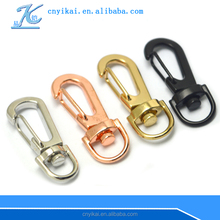swivel dog chain hook zinc alloy spring snap hook for handbag bag