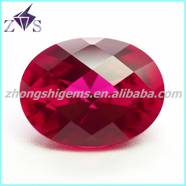 Checker cut Ruby loose wholesale beads