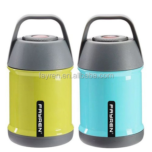 Vacuum air pot Lunch bottle box thermal food jar smoldering cooking pot