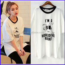I'm a horizontal runner fake designer clothes wholesale crew neck t shirt