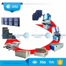 China Keyland 1MW 5MW10MW Photovoltaic Solar Panel Assembly Line For Sale Solar Module Manufacturing Project