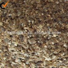 Raw golden vermiculite sheet