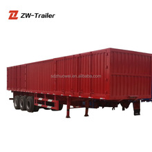 High quality 20 tons 2 axles FUWA brand semi trailers camp box trailer