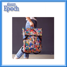 Hot SALE 2017 Multi-functional Stylish Colorful high student school backpack youth daily travel back pack