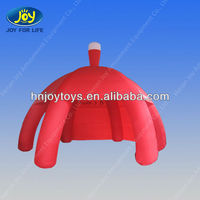 Hot sale/Red Inflatable Tent with 6 Legs for Event Anne