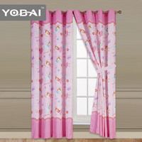 Luxury Design 100 Polyester Printed Window Curtain Price