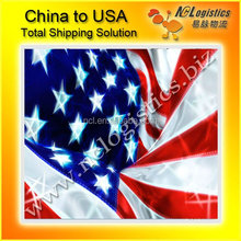 competitive international shipping rates China to Houston USA