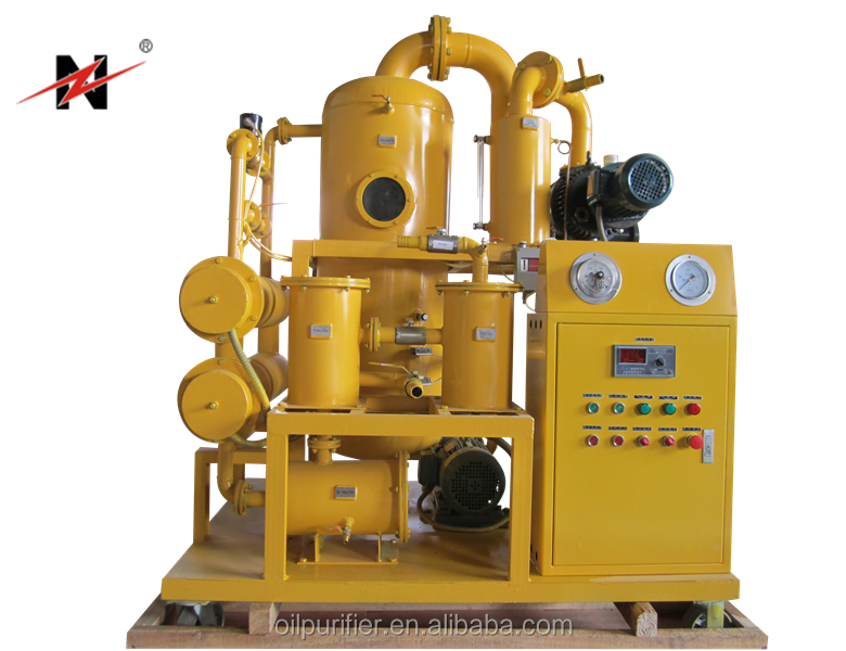 High Vacuum Insulation Oil Processing Plant, Mobile Insulation Oil Purify Solution, Easy-Moving Oil Purication Plant