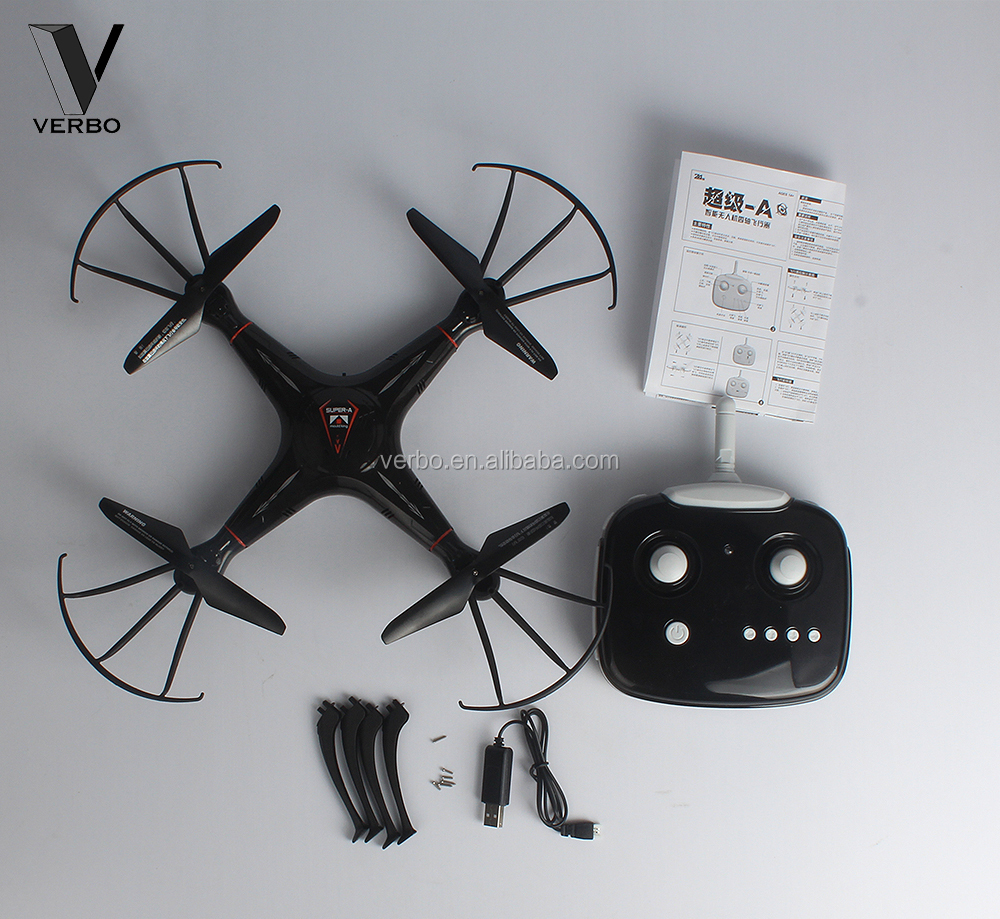 4CH 2.4G smart quadcopter face to face glider swing