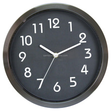 China Home Decor Digital Stainless Steel Wall Clock