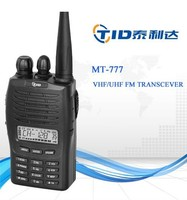 High quality radio for Motorola MT777 good price handheld 5w uhf vhf handy talkie