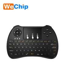multi touch pad 2.4g wireless backlit H9 Mini USB Keyboard Air fly mouse