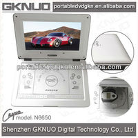 12 Inch LED Screen Portable DVD Player With FM Tuner And Bluetooth