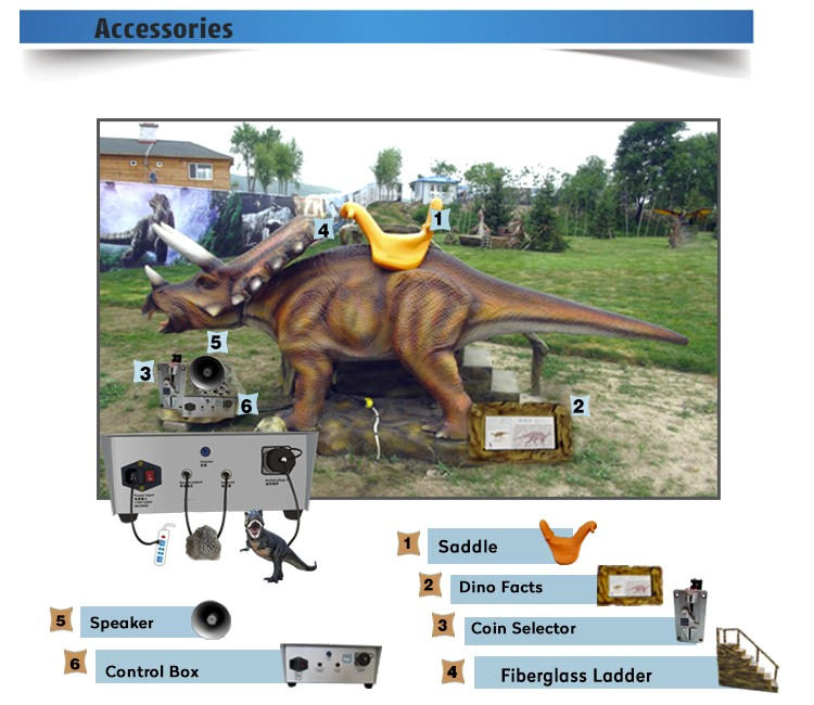 OA1111 Animated Walking Dinosaur Video For Sale