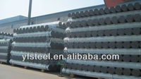 Q195 1.5 inch fencing Mild Carbon Square Welded Galvanized Steel Pipe / Tube Manufacturer for greenhouse