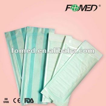 dental self-sealing sterilization pouch