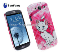 2013 Fashion design cartoon cell phone cases for samsung galaxy s3 i9300 cellphone fox phone case