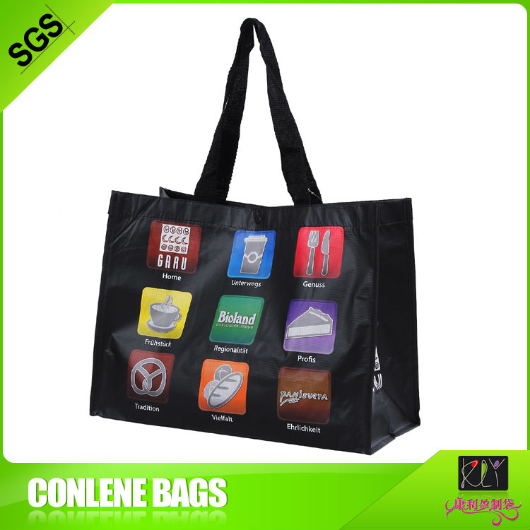sublimation printed pet shopping bag Mini Matte Totes