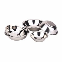alibaba wholesale kitchen tableware dinnerware mixing bowls set stainless steel soup plate stainless steel soup plate