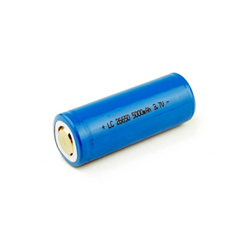 Brinyte PCB 3.7v 5000mah Rechargeable 26650 Lithium Battery