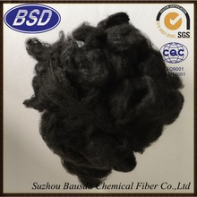 1.5D-20D black polyester stable fiber PSF china manufacturer